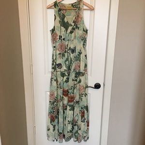 Anthropologie brand Maeve maxi dress sz 10
